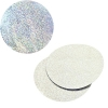 Sequins Hologram 50mm No Hole Round Silver